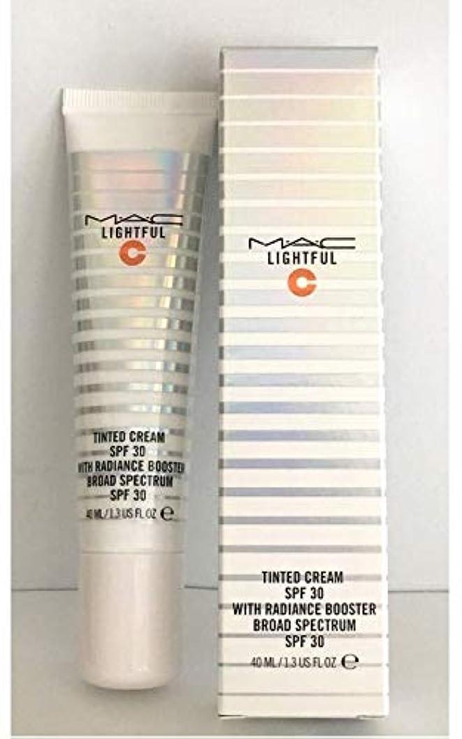 刺繍ステートメント爆発するマック ライトフル C ティンティッド クリーム SPF30 #LIGHT 40ml 並行輸入品