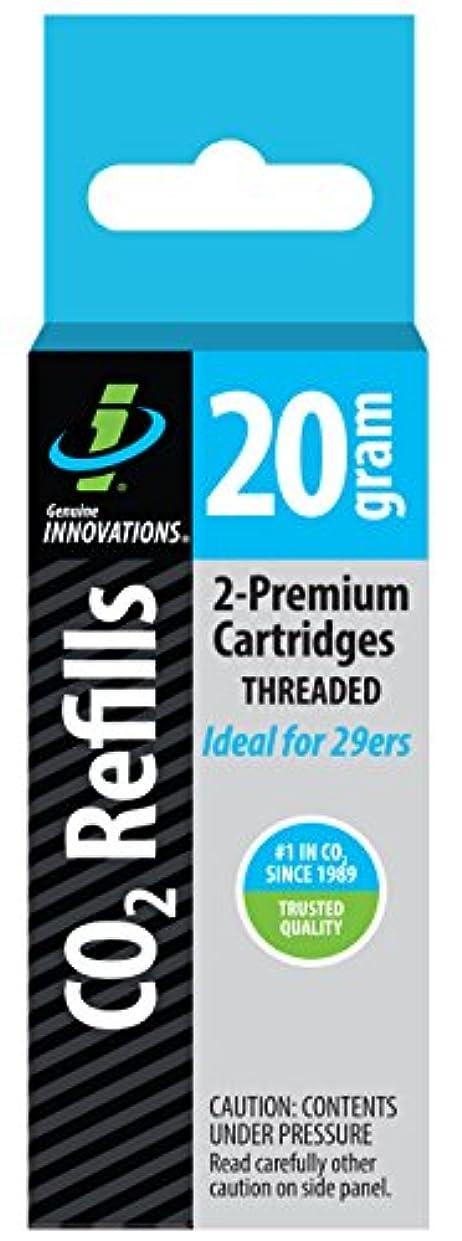 地上の角度ブレーキGenuine Innovations Fat 20 Threaded Cartridges by Genuine Innovations