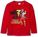 [ナカタ] 長袖Tシャツ 騎士竜戦隊リュウソウジャー SO9122 ボーイズ 赤 110㎝