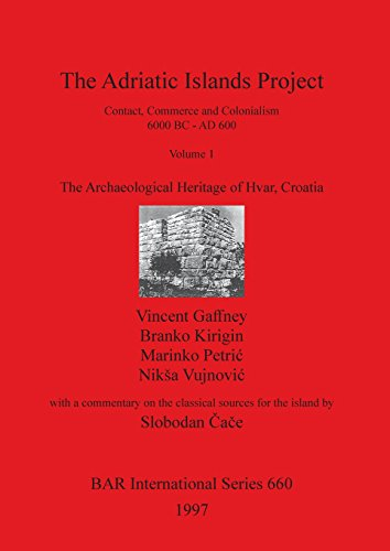 The Adriatic Islands Project: ...