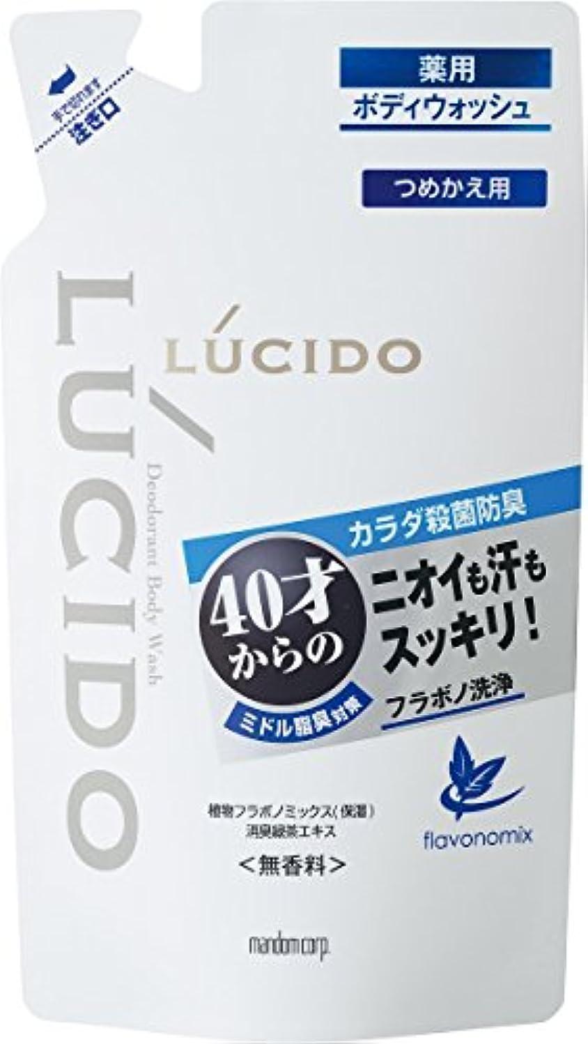 意図する透けて見える該当するルシード 薬用デオドラントボディウォッシュ つめかえ用 380mL (医薬部外品)