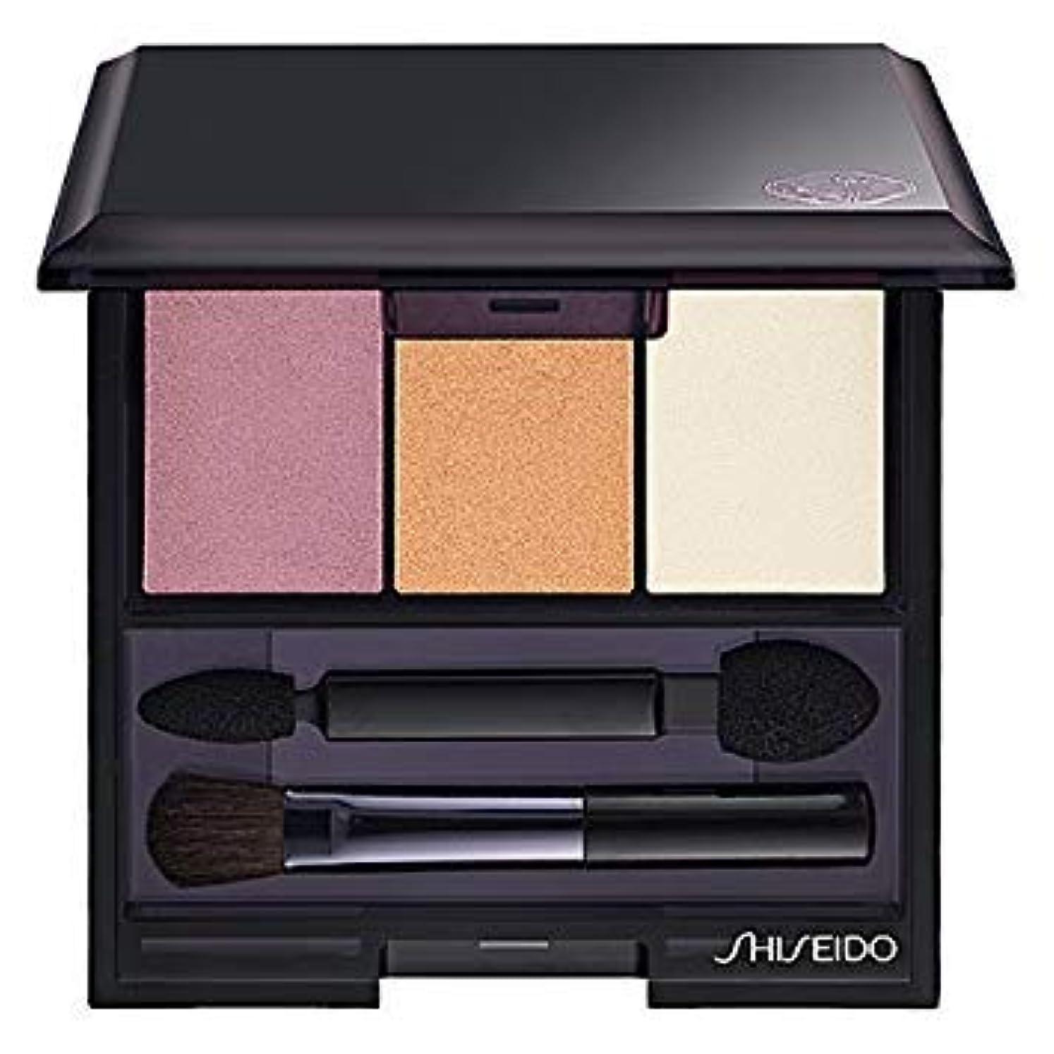 水素疾患領域資生堂 ルミナイジング サテン アイカラー トリオ RD299(Shiseido Luminizing Satin Eye Color Trio RD299) [並行輸入品]