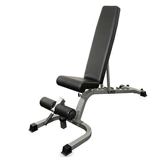 Valor Fitness DD-25 Adjustable FID Utility Bench with Wheels [並行輸入品]