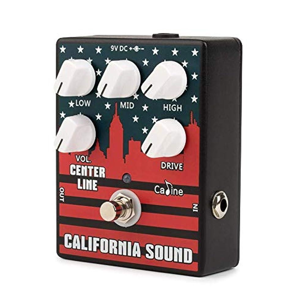 現象ほとんどの場合インペリアルMuslady オーバードライブディストーションエフェクトペダル 高ゲインエレキギター 3バンドEQ アルミ合金 ハウジング トゥルーバイパス CP-57