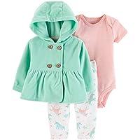 Carter's Baby Girls` 3-Piece Little Jacket Set