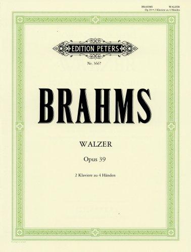 ブラームス : ワルツ Op.39(作曲家本人のオリジナル編...