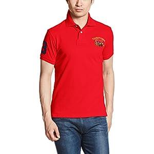 (ポロラルフローレン)POLO RALPH LAUREN ポロシャツ 半袖 【並行輸入品】 MNBLKNIM1I10272 D71 RED (D71) XS