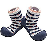 Attipas Marine Arrow Pre Walker Baby Shoes, Navy, X-Large