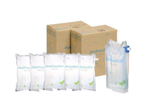 道志村の天然水 doshiwater 専用スタンディングケース付 (2L×6袋)×2