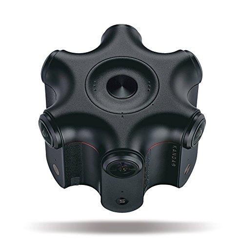 Kandao Obsidian S 120fpsの超高フレームレートプロ向け3D360度VRカメラ 強力な手ブレ防止機能 360度空間音声収録 HDR動画・静止画 専用のスティッチングのソフトウェア【国内正規品】
