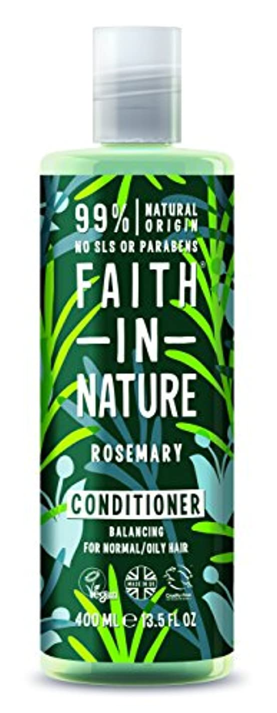 Faith In Nature Rosemary Conditioner For Normal To Oily Hair 400ml