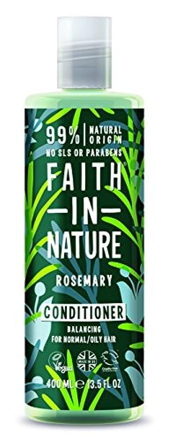 理容師規則性カビFaith In Nature Rosemary Conditioner For Normal To Oily Hair 400ml
