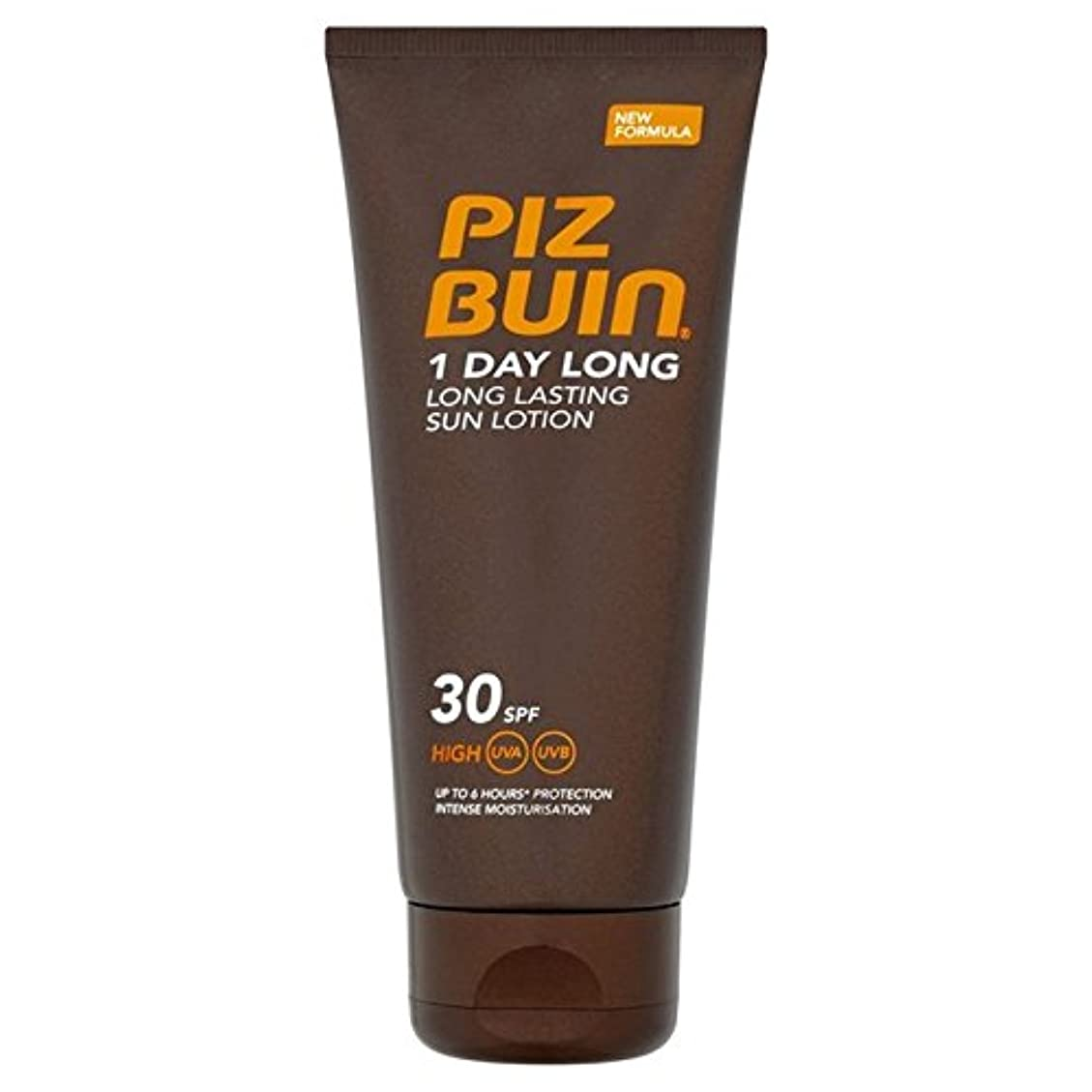 フィットネス不忠国民投票Piz Buin 1 Day Long Protection Lotion SPF 30 100ml (Pack of 6) - ピッツブーイン1日長い保護ローション 30 100ミリリットル x6 [並行輸入品]