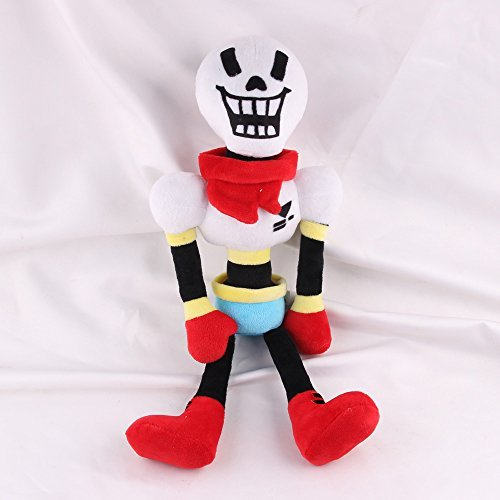 Undertale Papyrus Stuffed Doll Plush Toy For Kids Christmas Gifts For Baby, Children By Ancientfrappy by Ancientfrappy