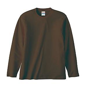 (ユナイテッドアスレ)UnitedAthle 5.6オンス 長袖Tシャツ 501001 [メンズ] 052 ダークブラウン M