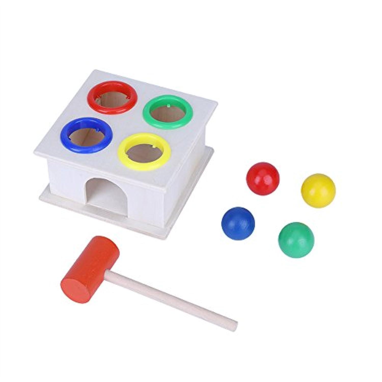 木製玩具 子供玩具 教育玩具 木製ハンマー ハンマー玩具 脳刺激玩具 高品質 ウッド製 軽量 無毒