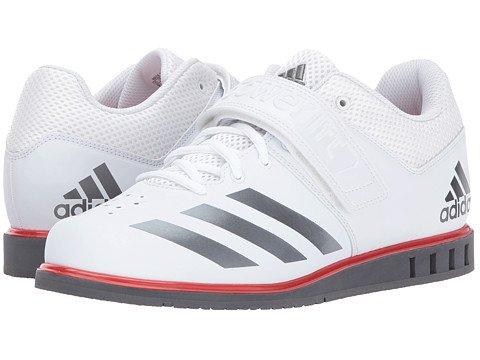 (アディダス) adidas メンズトレーニング・競技用シューズ・靴 Powerlift 3.1 Footwear White/Night Metallic/Grey Five 4.5 22.5cm D - Medium [並行輸入品]