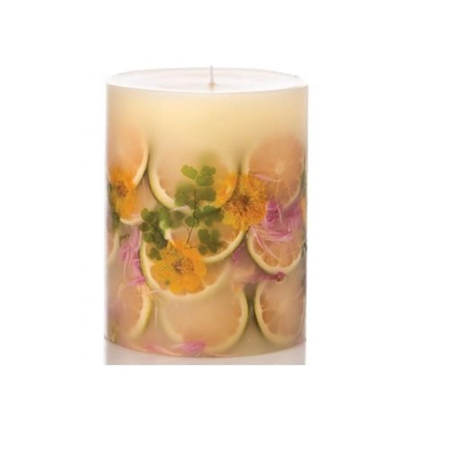 見える小売力強いRosy Rings Lemon Blossom & Lycheeトールラウンド香りのキャンドル、5