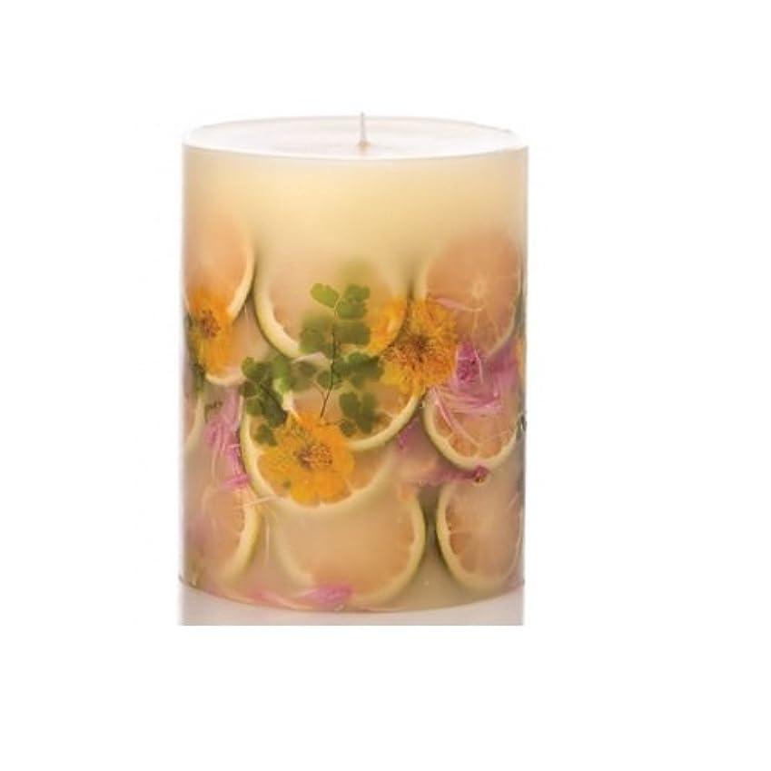劇作家フィードオンお互いRosy Rings Lemon Blossom & Lycheeトールラウンド香りのキャンドル、5