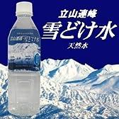 立山連峰雪どけ水 500ml×24本