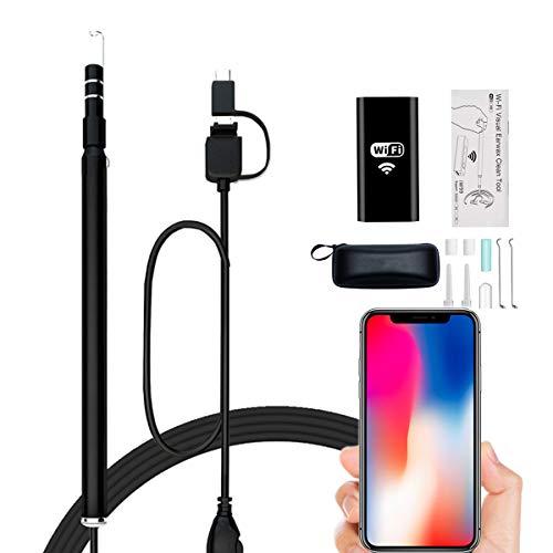 Magsbud 耳かき カメラ WiFi電子耳鏡 最新版iphone対応可能...