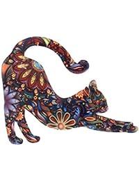 PINKING ブローチ 猫 人気 かわいい デザイン 文芸 レディース 誕生日 記念日 卒業式 プレゼント