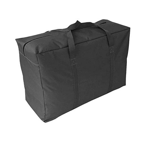 メガバンク 大容量 ボストンバッグ 100L 超大型バッグ 引っ越しバッグ 荷物 運搬 衣類・布団収納袋 布団収納ケース 600Dオックスフォード 丈夫 撥水バッグ 持ち手付 スボーツ アウトドア キャンプ 旅行 特大収納袋 85*55*33cm ブラック