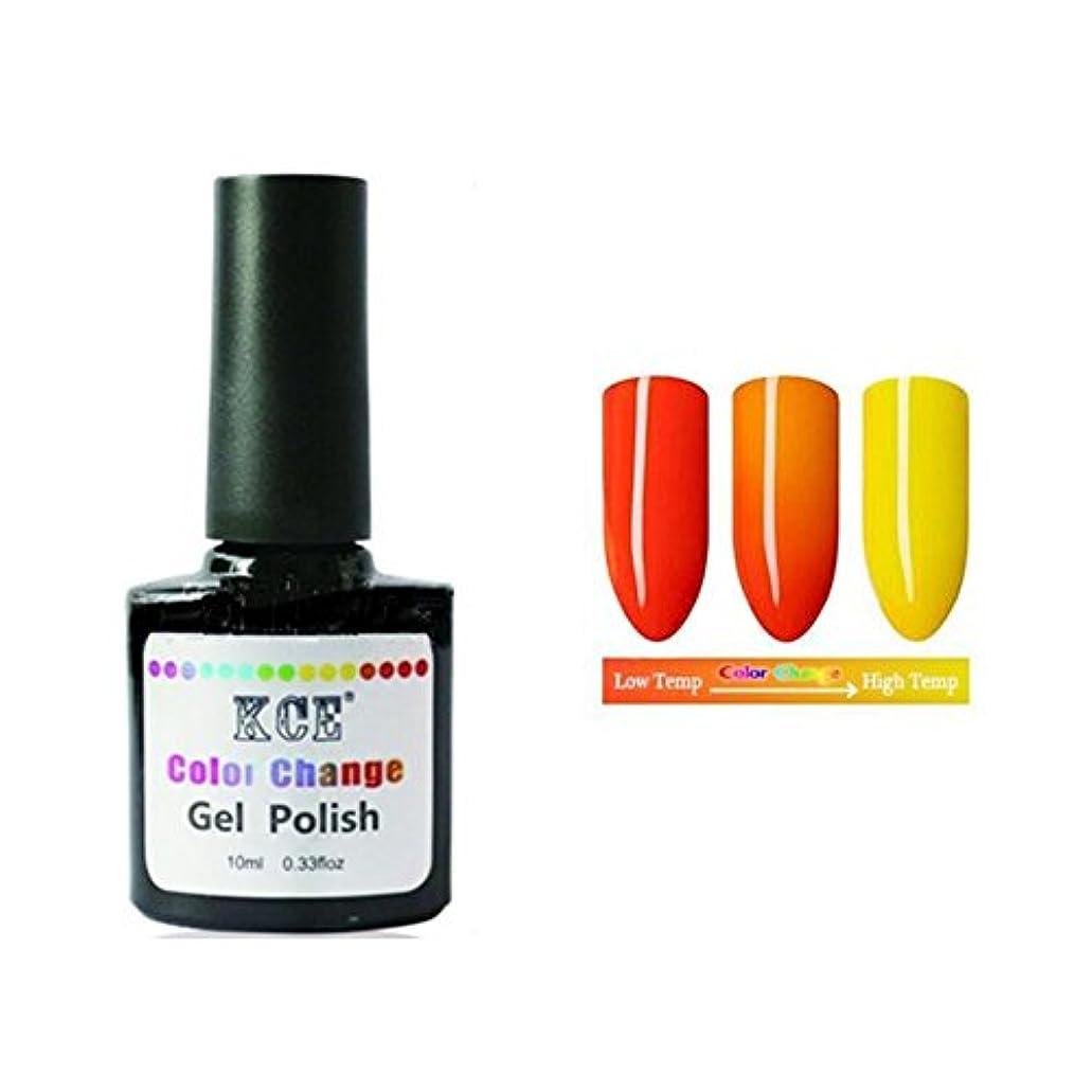 韓国ビルダー地域の1ボトル10ml 温度によって色が変わる ネイルジェル 変色ジェルネイル UV/LEDジェルネイルアート