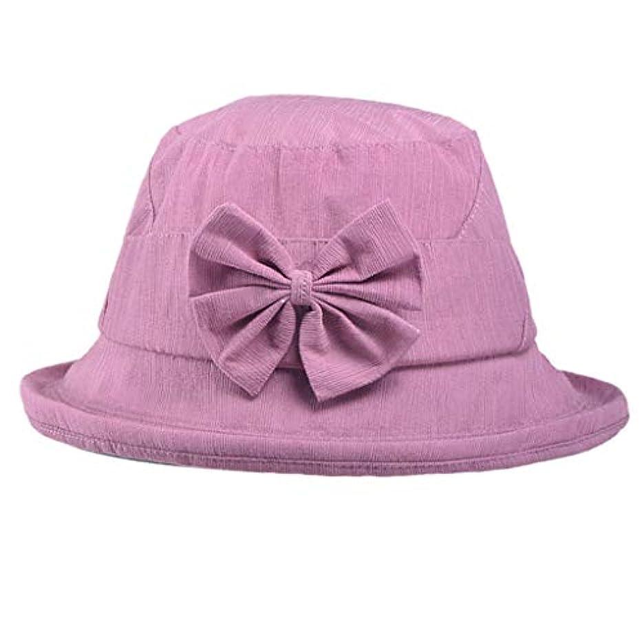 そよ風ミリメーター行うファッション小物 夏 帽子 レディース UVカット 帽子 アウトドア 夏 春 UVカット 帽子 蝶結び 漁師帽 日焼け防止 つば広 無地 ハット レディース 女性 紫外線対策 大きいサイズ 夏季 ビーチ ROSE ROMAN