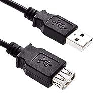 GizzmoHeaven USB 2.0Aオスto aメスプレミアム品質拡張子ケーブル延長リード 1.6 Feet USBAMALETOAFEMALE0P5M(UK)