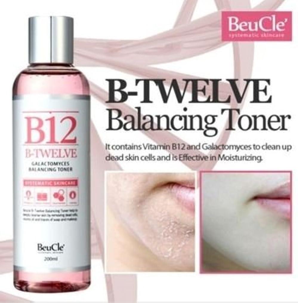プランテーションデッドサイレン[ビュクレ] BeuCle' [B12ガラクトミセスバランシングトナー]B12 Galactomyces Balancing Toner] 敏感肌でもOK角質拭き取り化粧水 [並行輸入品]
