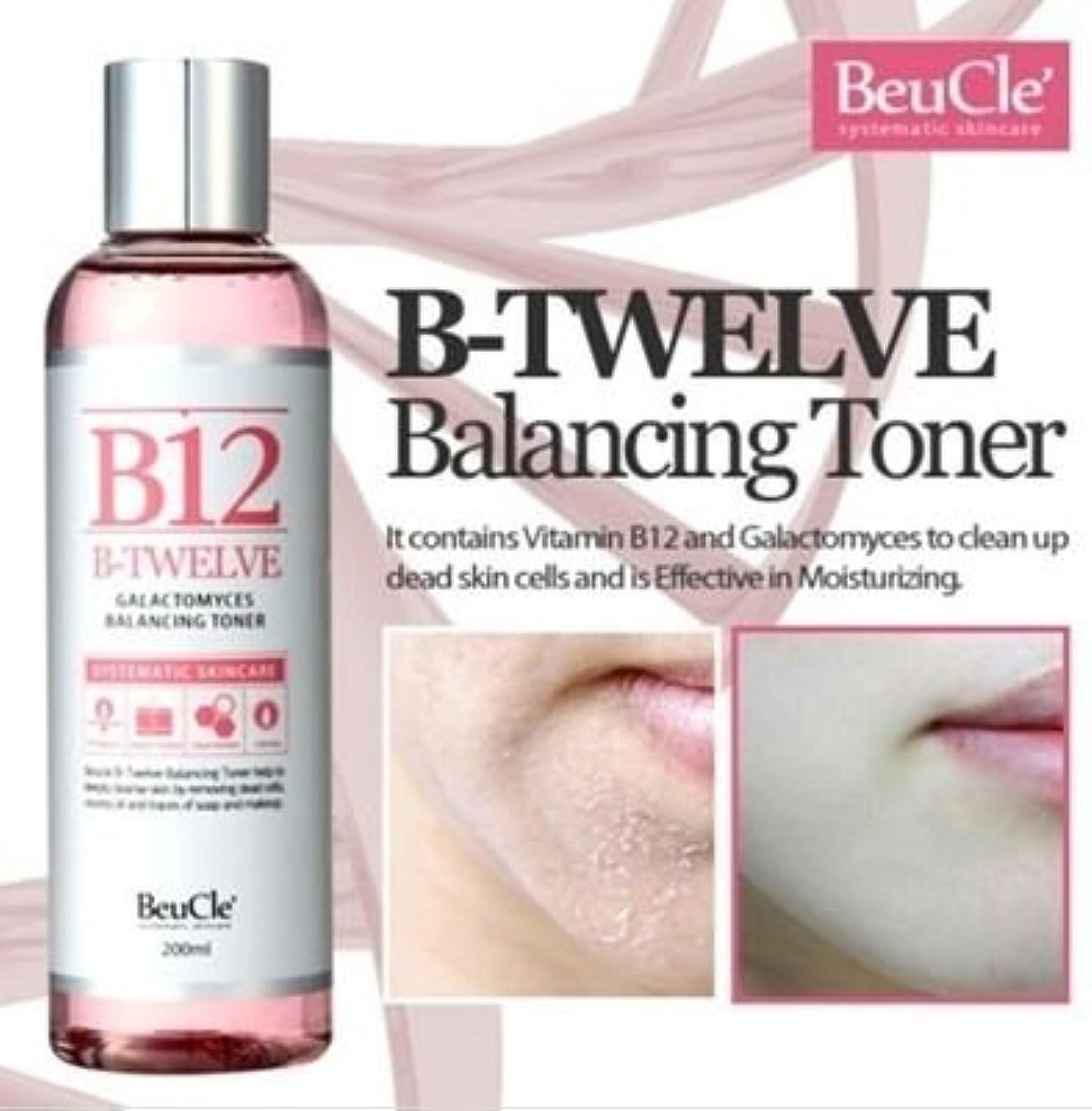 ジャーナル研磨かまど[ビュクレ] BeuCle' [B12ガラクトミセスバランシングトナー]B12 Galactomyces Balancing Toner] 敏感肌でもOK角質拭き取り化粧水 [並行輸入品]