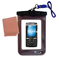 Underwater Case for the Sony Ericsson k850i–天気、安全に保護防水ケースagainst the elements