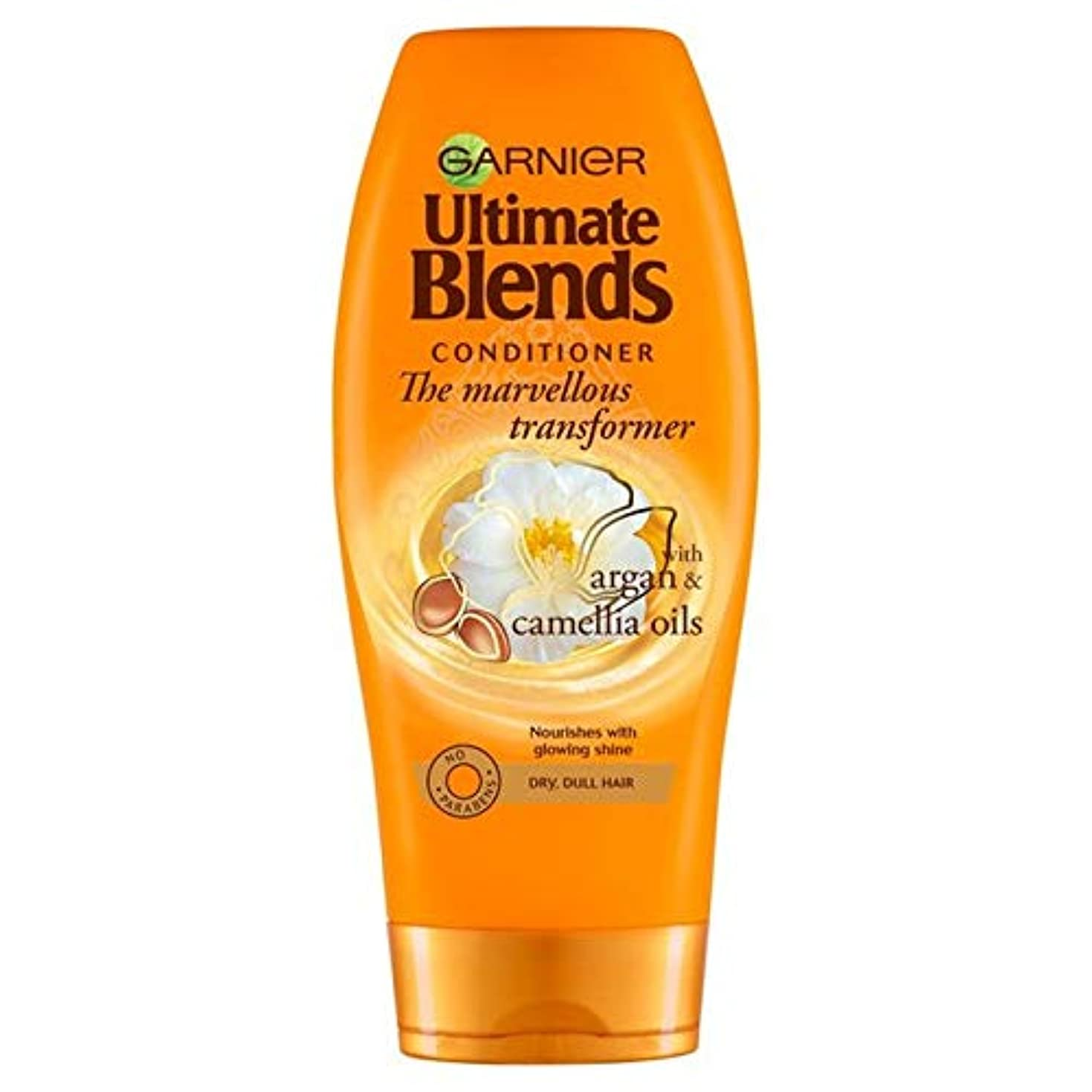こどもセンターブランクストラトフォードオンエイボン[Garnier ] ガルニエ究極は、アルガンオイル光沢のあるヘアコンディショナー360ミリリットルをブレンド - Garnier Ultimate Blends Argan Oil Shiny Hair Conditioner...