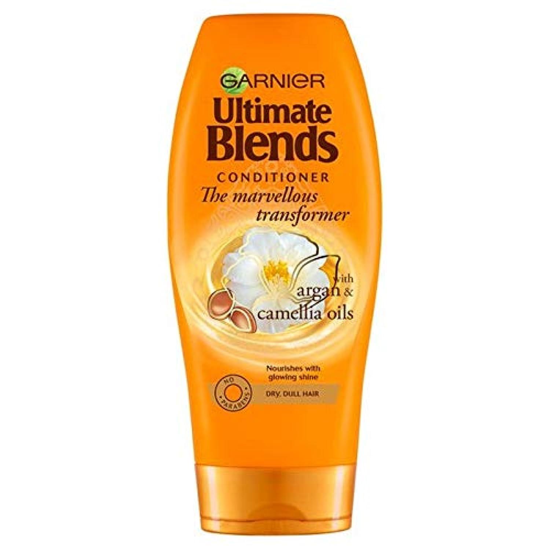 [Garnier ] ガルニエ究極は、アルガンオイル光沢のあるヘアコンディショナー360ミリリットルをブレンド - Garnier Ultimate Blends Argan Oil Shiny Hair Conditioner...