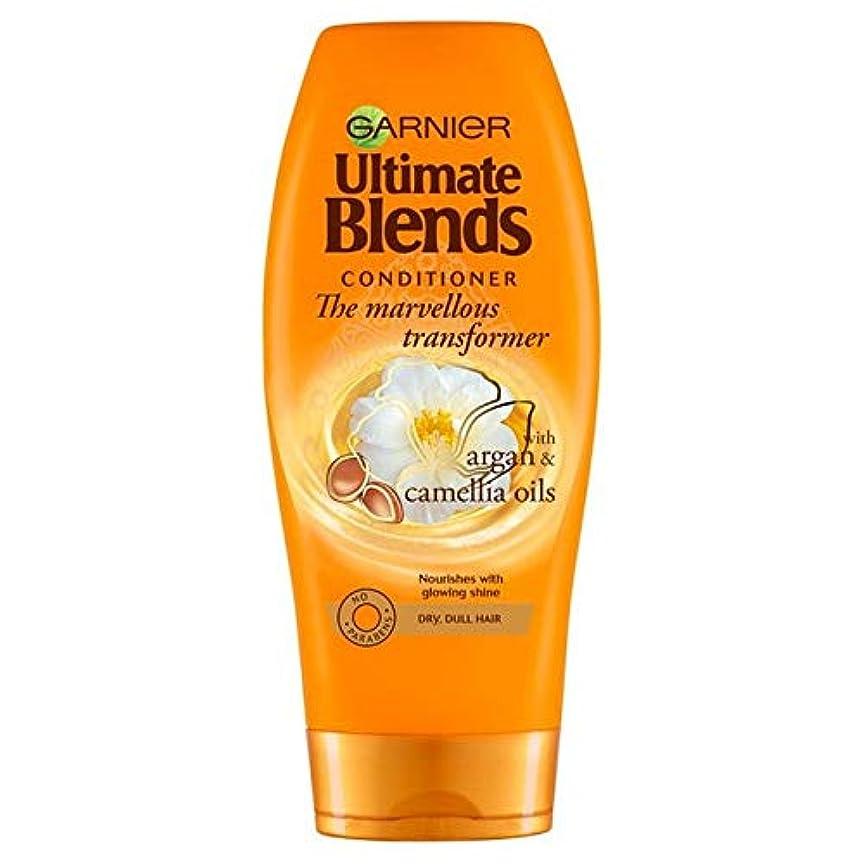 宙返り加速するペルソナ[Garnier ] ガルニエ究極は、アルガンオイル光沢のあるヘアコンディショナー360ミリリットルをブレンド - Garnier Ultimate Blends Argan Oil Shiny Hair Conditioner...