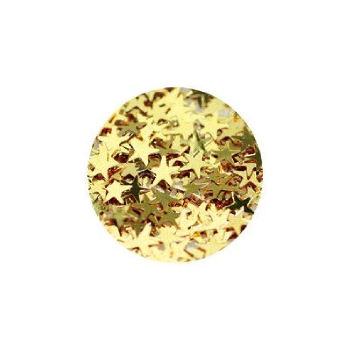 位置づける拮抗する病なキラキラ ゴールド スター 3mm