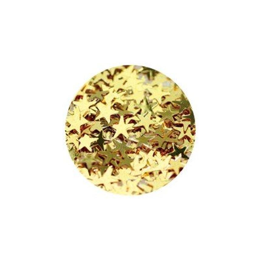代数的パブ複数キラキラ ゴールド スター 3mm