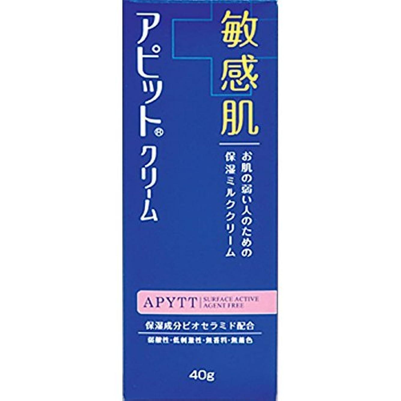 虐殺修正冒険家全薬工業 アピットクリーム 40g (医薬部外品)