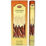 Hem Cinnamon Incense Hexa Incense Stick, 6packs X 20 Sticks= 120 Sticks