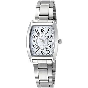 [アリアス]ALIAS 腕時計 アナログ アマルフィ 3気圧防水 ブレスレット ホワイト A36L07 レディース