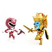SDCC 2015 Mighty Morphin Power Rangers Metallic Red Ranger Vs. Goldar