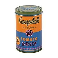Mudpuppy (マッドパピー) ウォーホル: Campbell's Soup オレンジ クレヨンセット