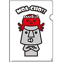 南三陸モアイファミリー 《 クリアファイル A4 》キャラクター 文房具 かわいい (モアーチョ & オクトパス君)