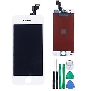 HSR iPhone5S LCD タッチパネル フロントガラス 修理 交換 ホワイト