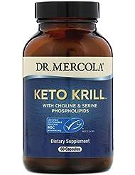 Dr Mercola ケトオキアミ コリン セリンリン脂質配合 カプセル 60粒 【アメリカ直送】