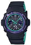 [カシオ] 腕時計 ジーショック 電波ソーラー AWG-M100SBL-1AJF メンズ