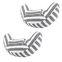 [Npoca] シートベルト クッション カバー お昼寝 枕 キッズ 子供 から 大人 まで 快適 ドライブ に (2個セット)
