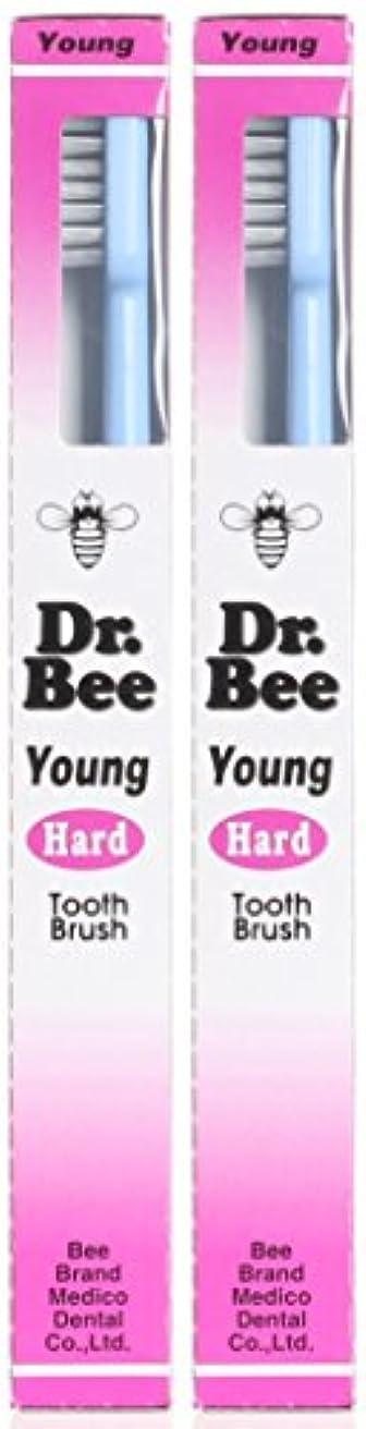 情熱味セッションビーブランド Dr.Bee 歯ブラシ ヤング かため【2本セット】