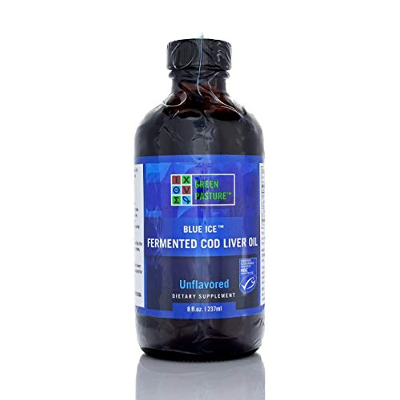 手書き栄養順応性GreenPastures 発酵タラ肝油 237 ml